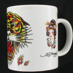 Ed Hardy Tasse Tiger and Geishas