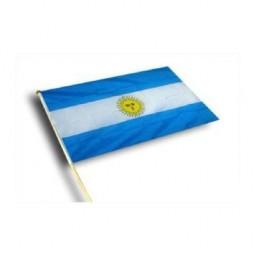 Argentinien Fahne 30x40 cm mit Stab