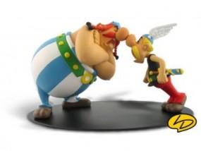 Asterix und Obelix im Streit
