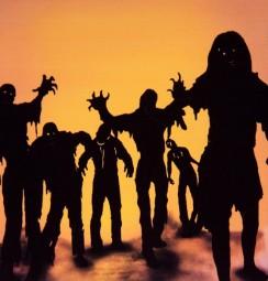 Aufkleber Zombies, 2 Bogen