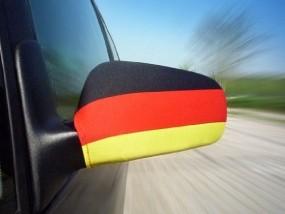 Deutschland Aussenspiegel-Fahne