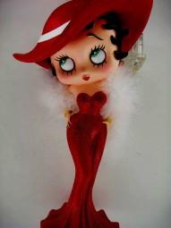 Betty Boop Figur aus Polyresin, 30 cm