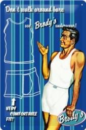 Blechschild Brody's