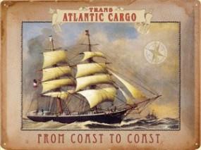 Blechschild Trans Atlantic Cargo