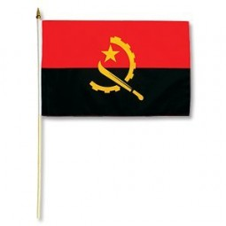 Fahne Angola, 30 x 45 cm