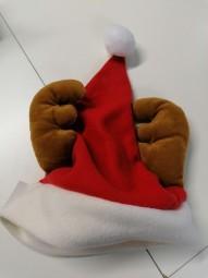 Weihnachtsmütze mit Geweih
