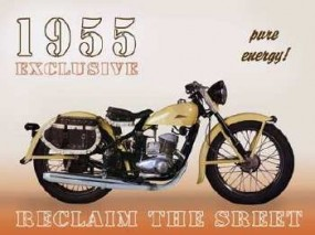 Magnet 1955 Motorrad