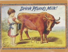 Magnet Drink Pfunds Milk