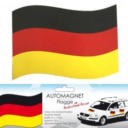 Deutschland Automagnet-Flagge