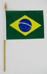Brasilien Minifahne, 15 x 10,5 cm