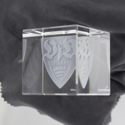 VfB-3D Kristallwürfel, 5x5cm