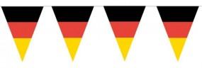 Deutschland Wimpelkette, 10 Meter