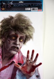 Zombie-Fensterbild, 41 x 26 cm